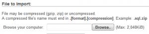 phpmyadmin_not_importing