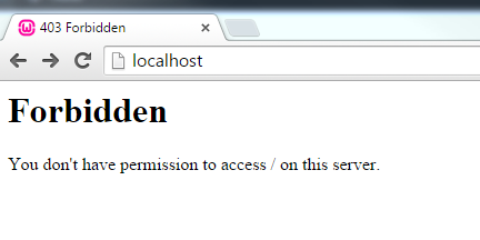 localhost_in_chrome_not_showing