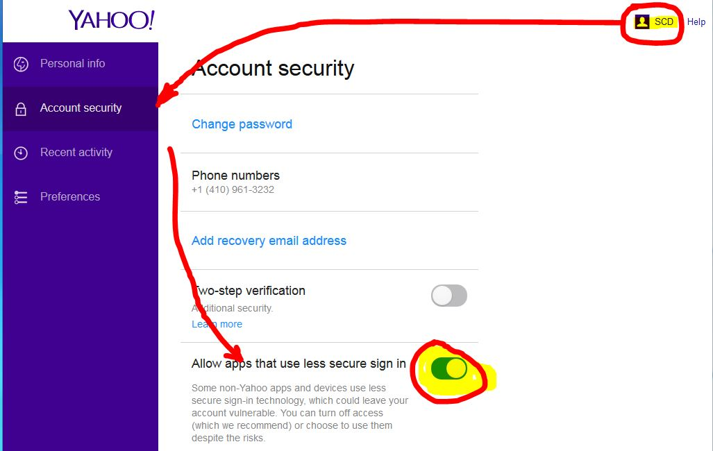 Setting Up Yahoo Email In Outlook 2013 | grimeymedia.com